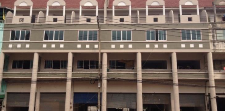 ขายอาคารพาณิชย์ ติดไปรษณีย์สมุทรสาคร ถนนพระราม2